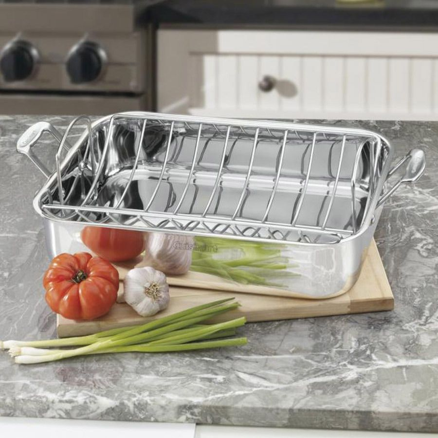 "16"" Roasting Pan with Rack Roasting pan"