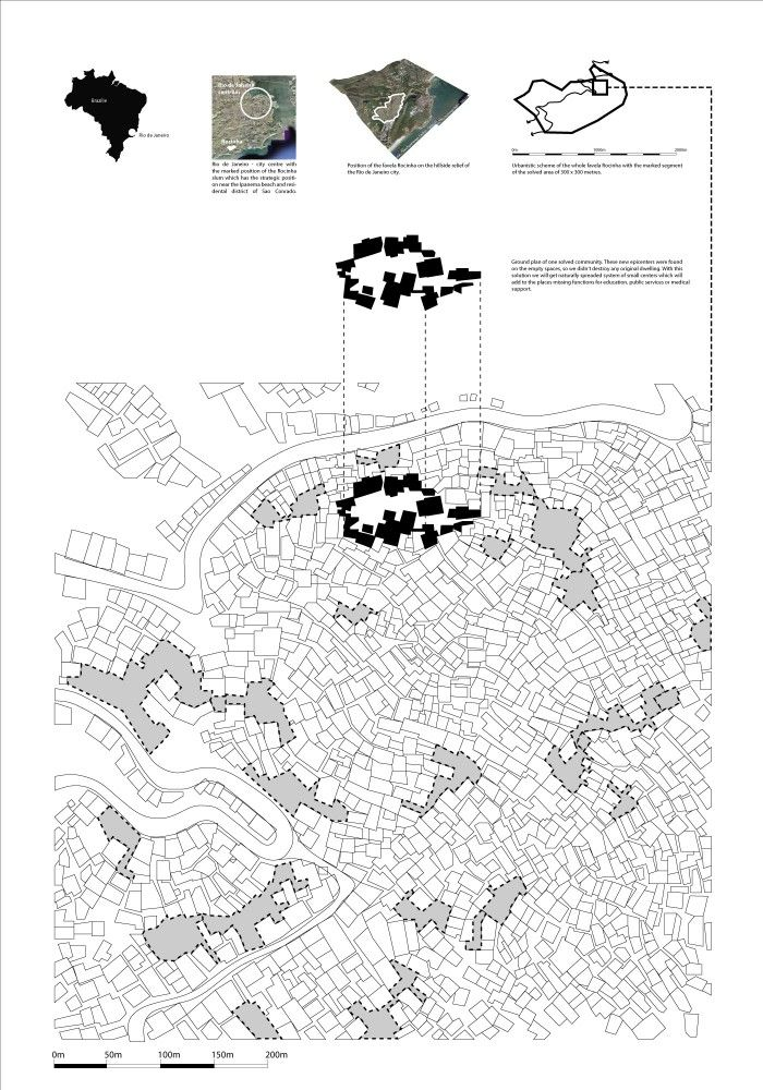 Gallery of Regeneration of the Favela de Rocinha Slum