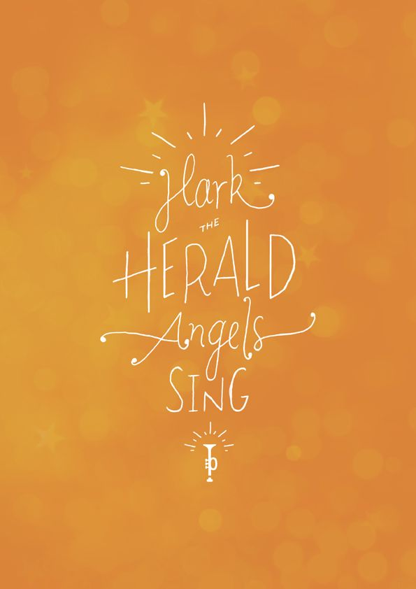 Hark The Herald Angels Sing Charles Wesley Hymn 1739 From