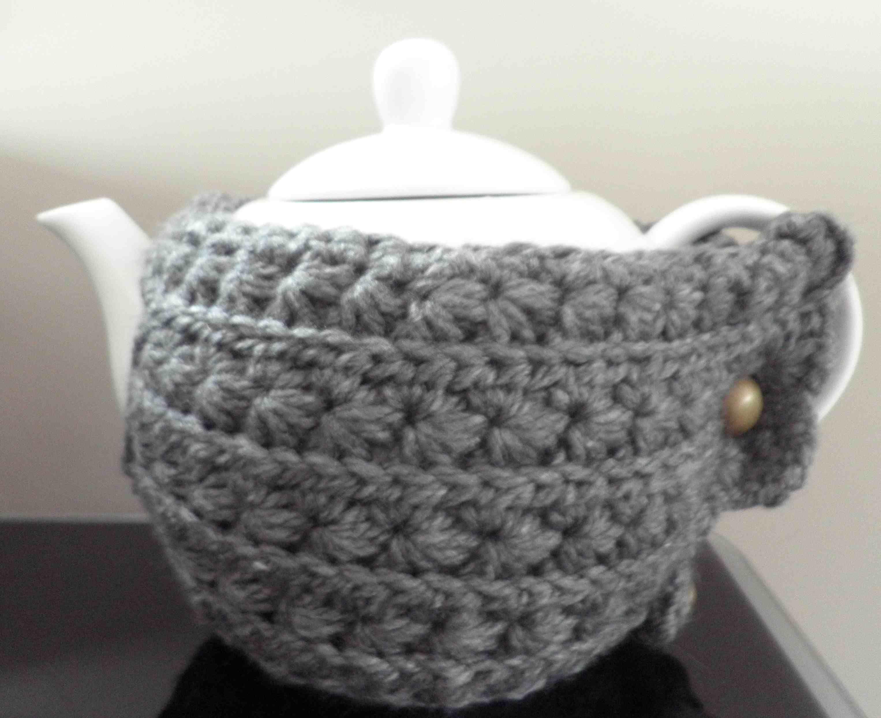 Theepotjasje Haken Met Sterrensteek Crochetmore Love Crochet