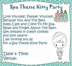 Spa theme kitty party games and ideas ladies kitty party kitty spa theme kitty party games and ideas ladies kitty party stopboris Choice Image