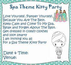 Spa theme kitty party games and ideas ladies kitty party kitty spa theme kitty party games and ideas stopboris Choice Image