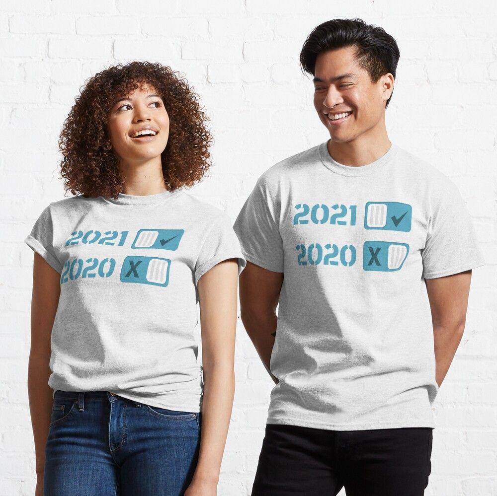 Happy New Year 2021 Classic T Shirt Classic T Shirt By Abdelilah2020 Valentine T Shirts Classic T Shirts Love T Shirt