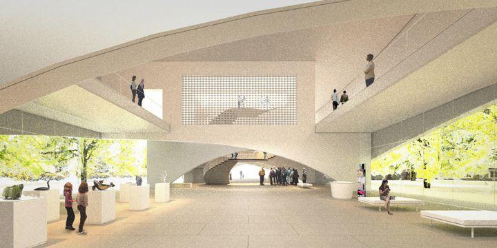 Musee National des Beaux Arts du Quebec proposal - Allied Works Architecture