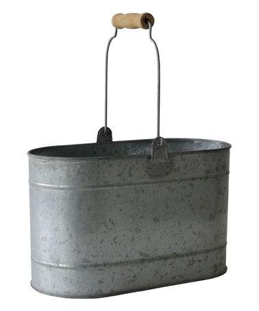 Look At This Zulilyfind Galvanized Oval Bucket Zulilyfinds Metal Bucket Galvanized Buckets Galvanized