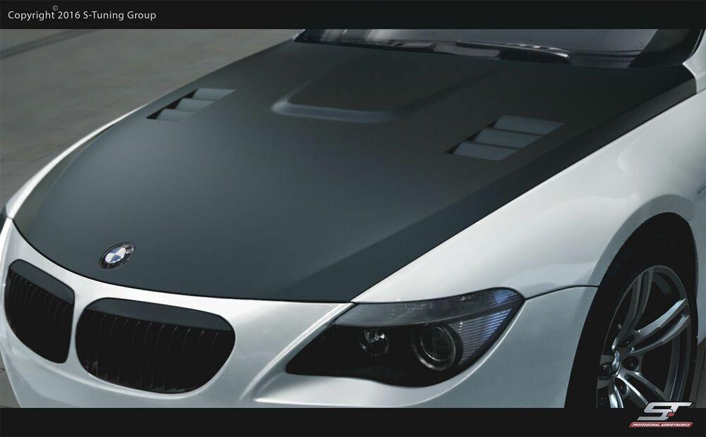 GFK Motorhaube für BMW E63 / 64 Neu !!! M-Look Tuning Spoiler   – GFK Motorhaube für BMW E63/64 Neu !!! M-Look Tuning Spoiler M-Look