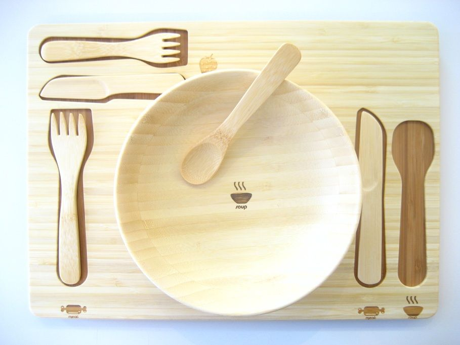 A Stylish Way to Teach Your Kids How to Set the Table & A Stylish Way to Teach Your Kids How to Set the Table | Kids ...
