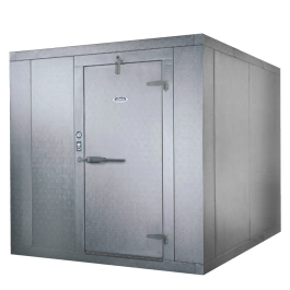 Bush Refrigeration Indoor Walk In Freezer Box Only 8 X 12 X 7 11 Walk In Freezer Cooler Box Locker Storage