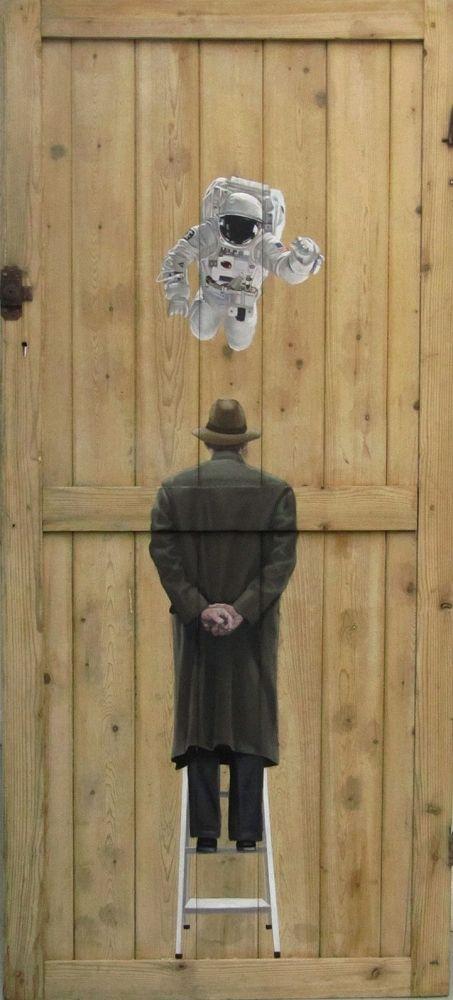 Las pinturas en las puertas Pete Hawkins