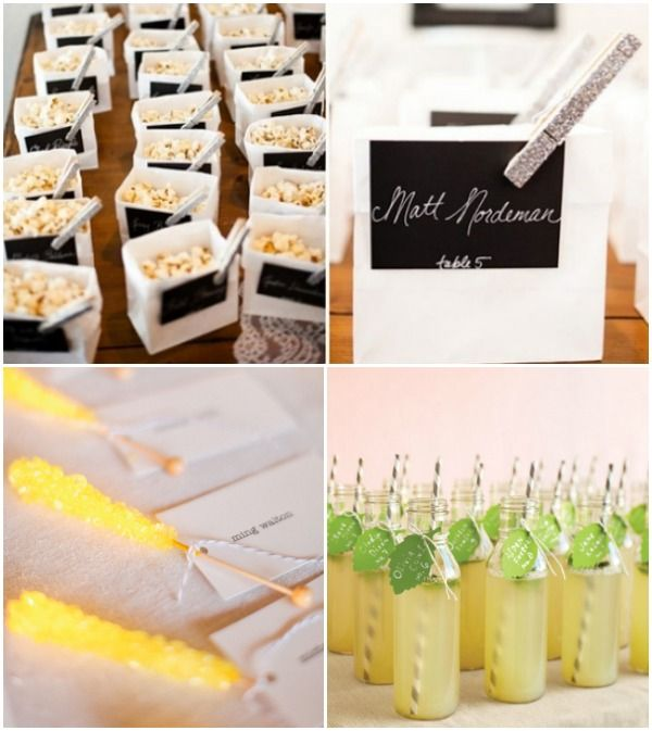 Creative Wedding Place Card Ideas: 7 Escort & Place Cards Ideas
