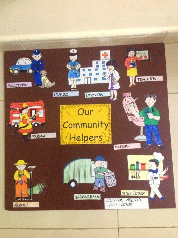 Our community helpers kindergarten | Community helpers ...