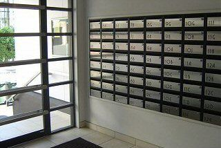Image Result For Mailbox From Mid Century Apartment Building Block Letterbox