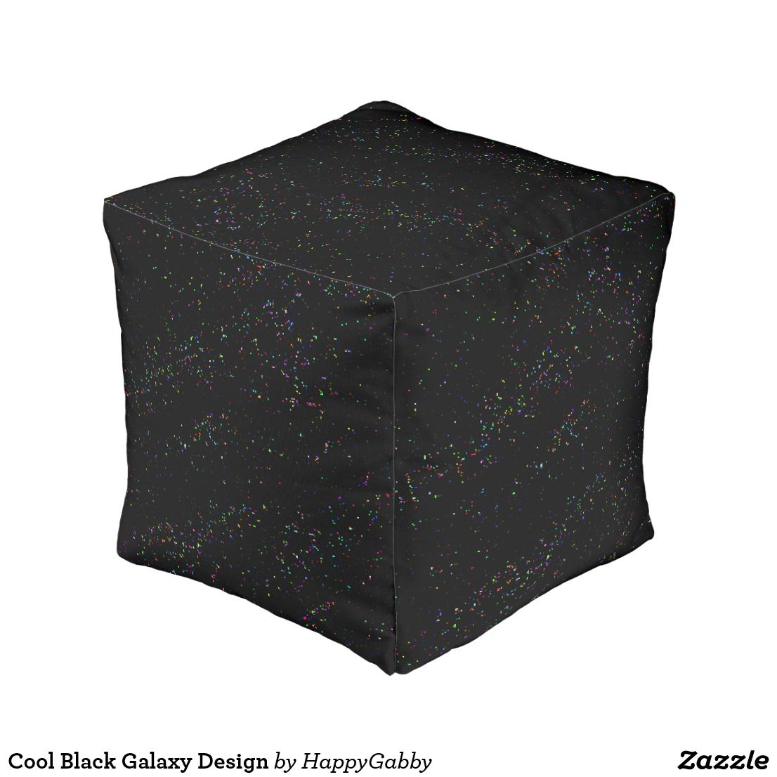 Moda Design Pouf.Cool Black Galaxy Design Pouf Zazzle Com Creative Zazzle