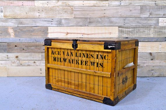 Vintage Wood Crate Bread Shipping Crate G B By Northboundsalvage Vintage Wood Crates Shipping Crates Wood Crates