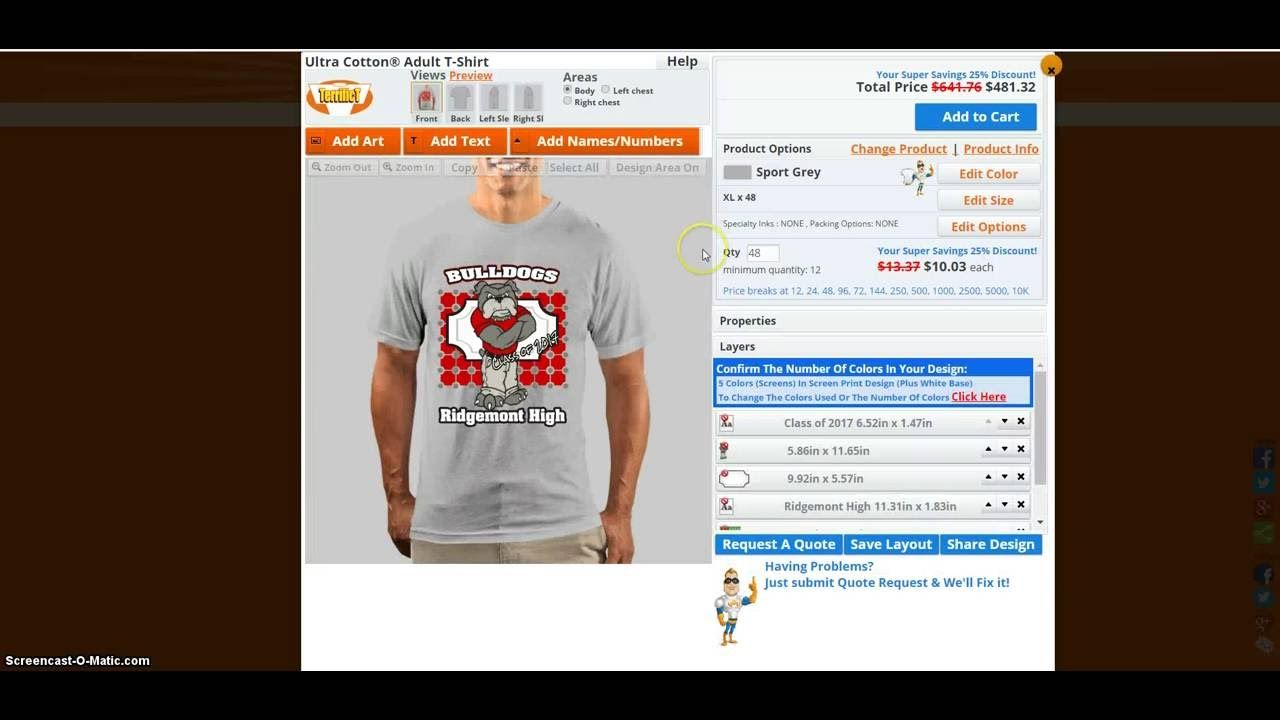 Design A School T Shirt With A Template How To Design T Shirts