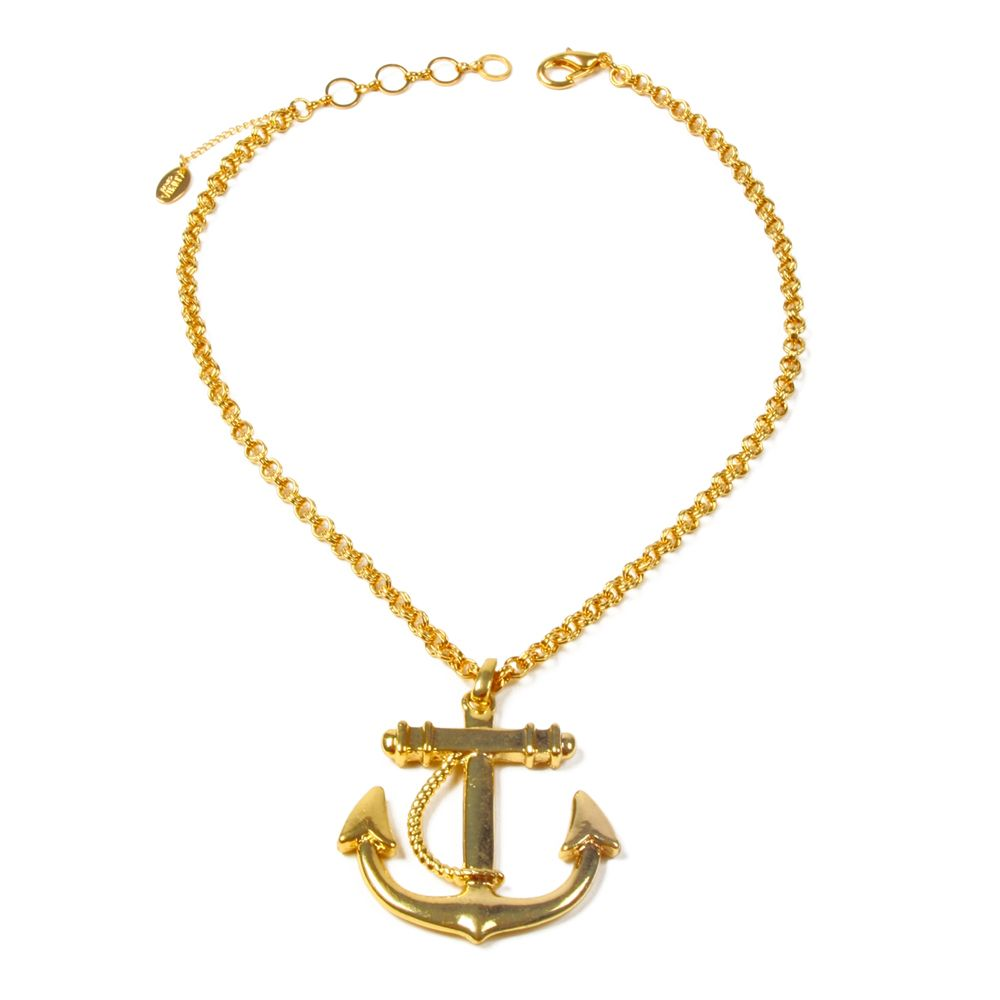 Anchor Necklace Must Have Jewellery Pinterest Anchor necklace