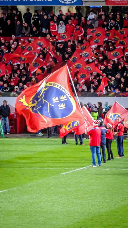 Munster V Clermont Auvergne 6th December 2014 Thomond Park Limerick Munster Rugby Rugby Scrum
