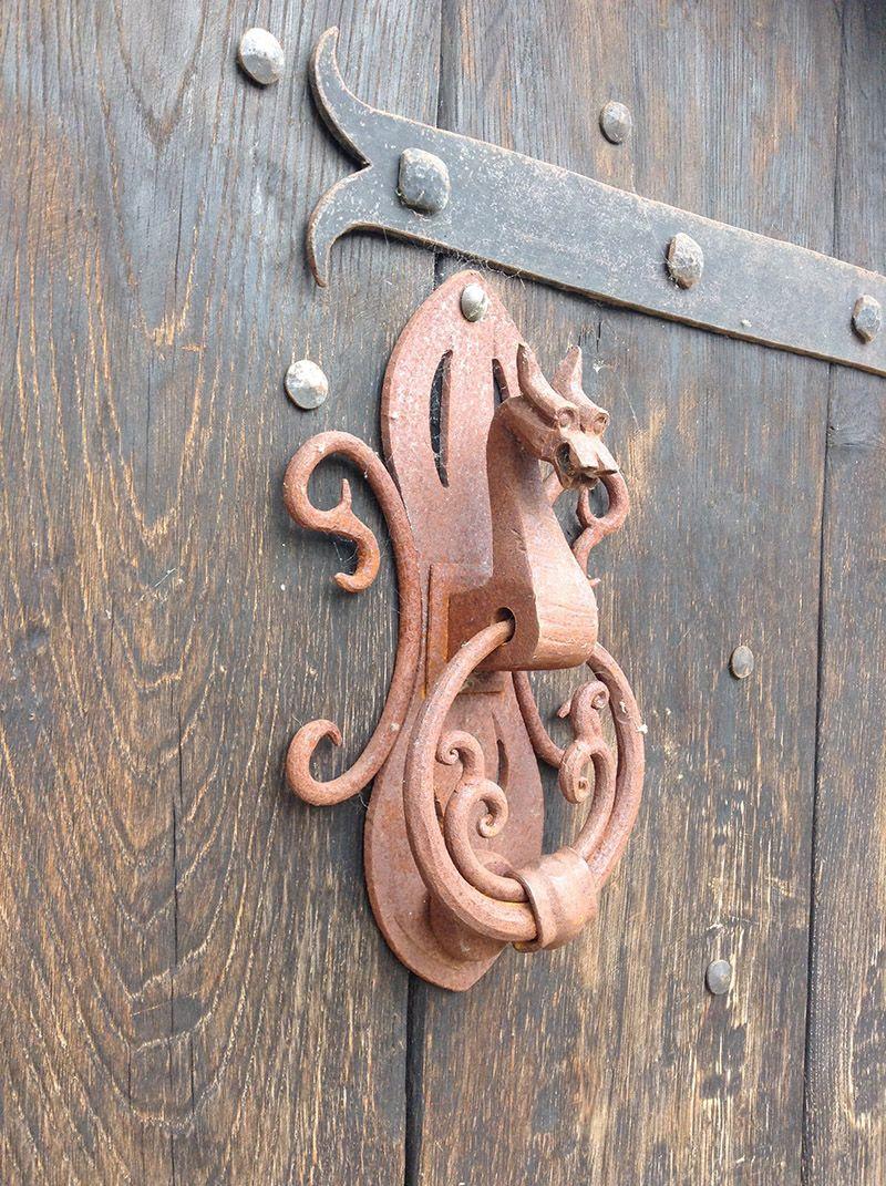 Dragon knocker on a door in Chipping C&den UK. & Dragon knocker on a door in Chipping Campden UK.   Doors   Pinterest