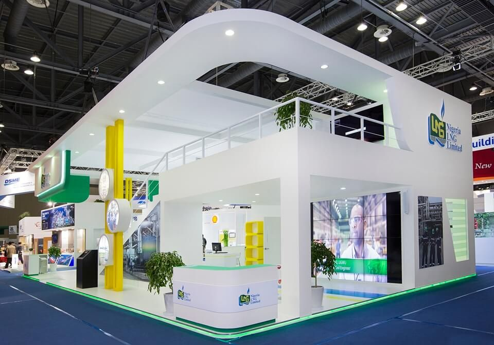 Corner Exhibition Stands Wa : Image result for double decker exhibition stand designs