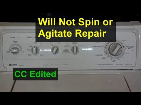 Washing Machine Will Not Agitate Or Spin Coupler Replacement