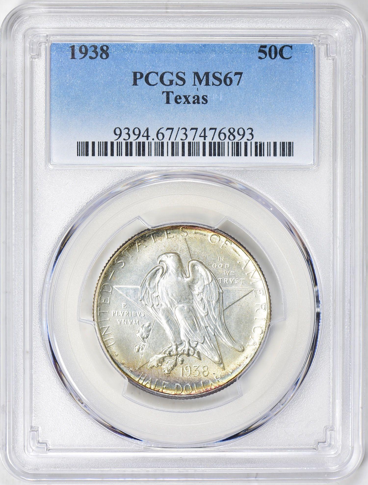 1938 Washington Quarter MS65 PCGS Mint State 65