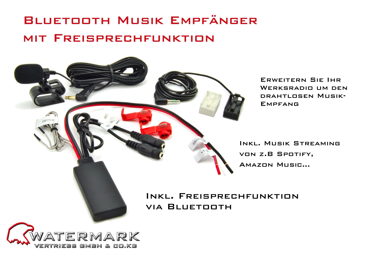 Bluetooth für Ihr Original Autoradio Brandneu! Erweitern Sie Ihr ...
