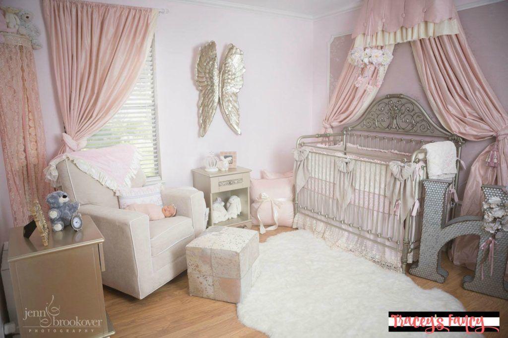 Pink And Gold Nursery Ideas Decor