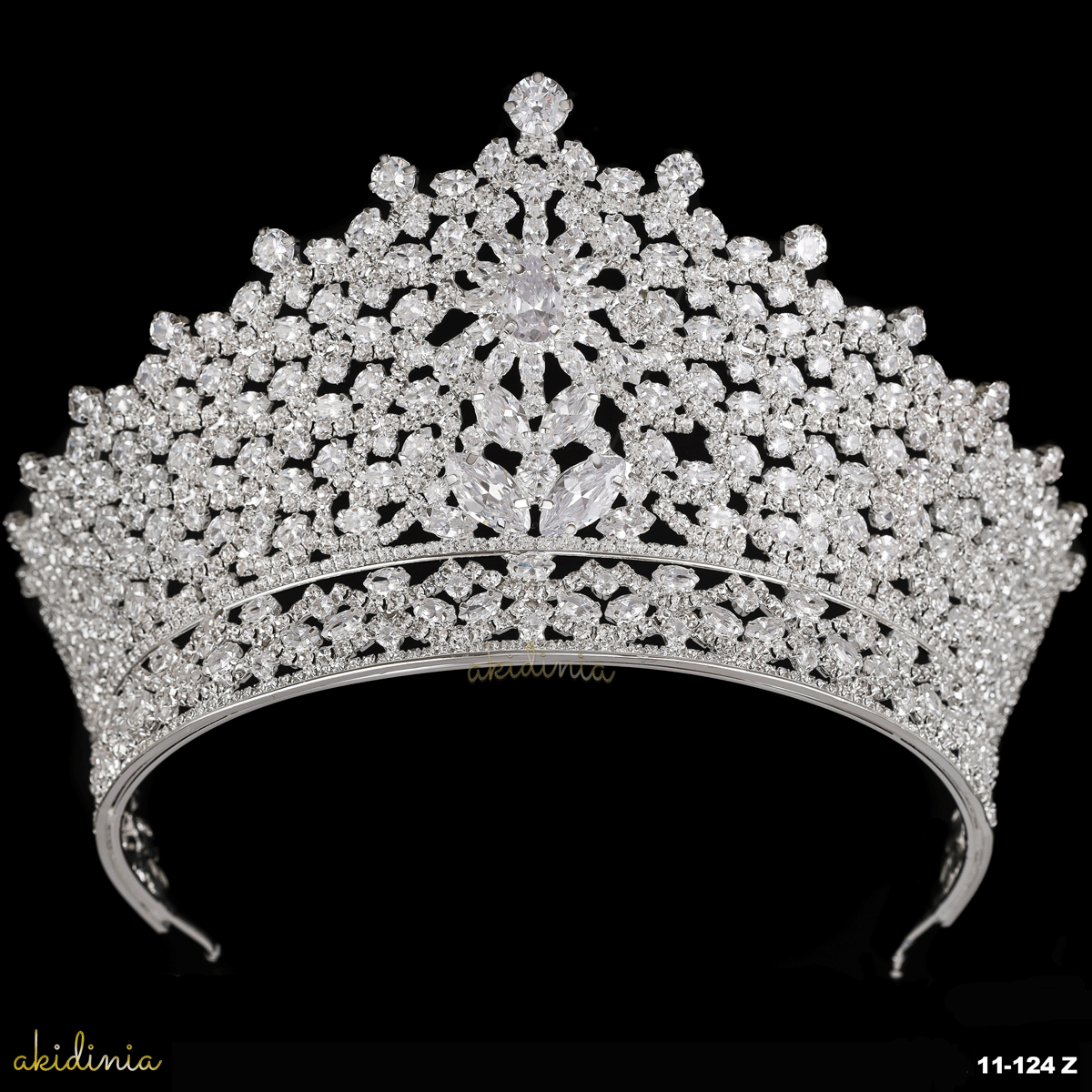 Ayla Royal Crown Akidinia Hair Accessories Collection Crown Royal Crown Design