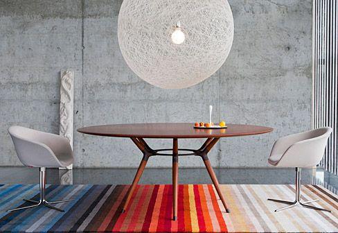 Esstisch rund design  X2 Tisch rund | Menjador | Pinterest | Tisch, Einrichtung und ...