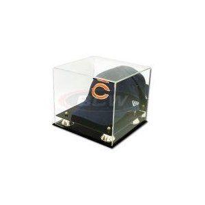 Bcw Deluxe Acrylic Baseball Cap Hat Display With Mirror Sports Memorabilia Display Case Collecti Baseball Hat Display Hat Display Baseball Caps Display