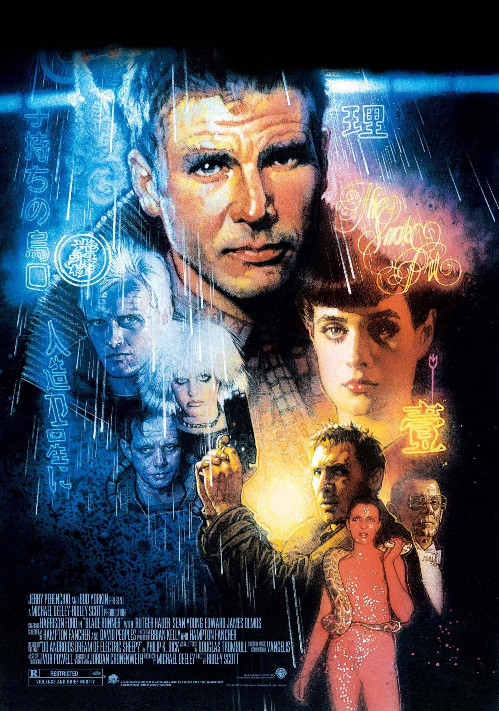 F-433 Blade Runner 2049 Movie Ryan Gosling Harrison Ford Art Film Poster 27x40