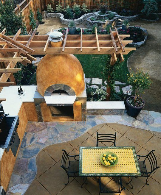 9 Dreamy Backyard Pizza Ovens We Wish Were Ours Outdoor living