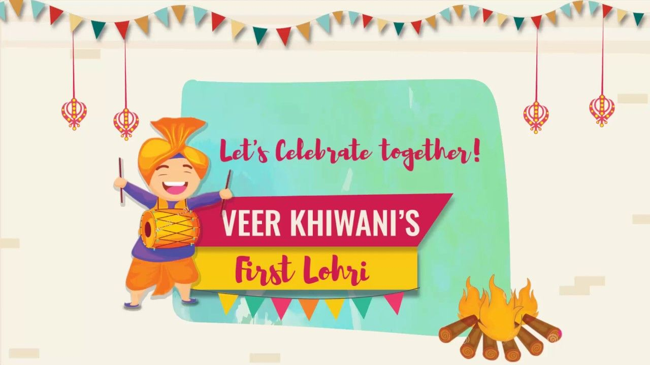 BEST FIRST LOHRI INVITATION CARD IDEAS Happy Invites