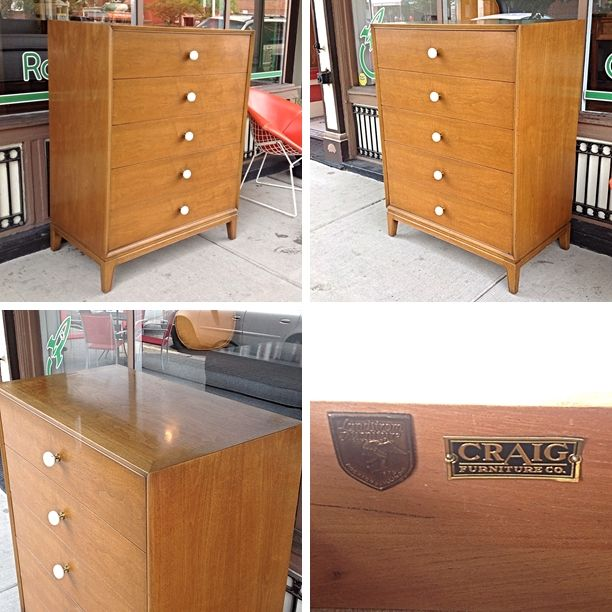 MidCenturyModern #Upright #Dresser Chest  Drawers-Pricing  Info