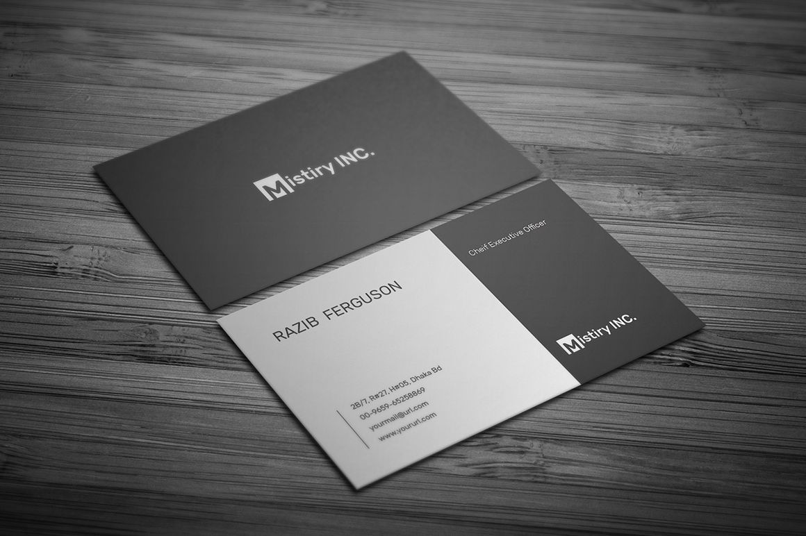 Minimalist business card minimalist business cards