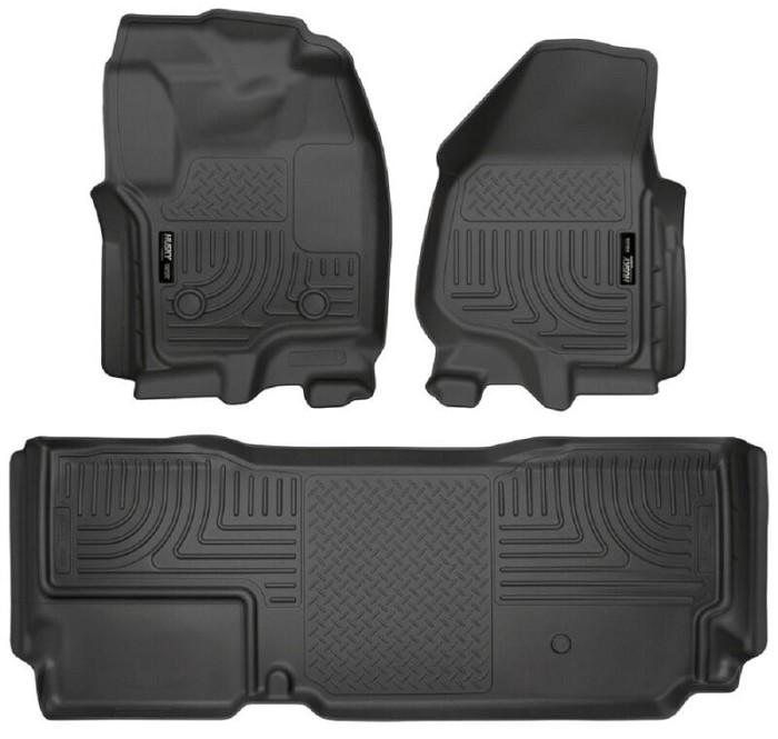 2012 2016 F250 F250 Supercab Husky Weatherbeater Front Rear