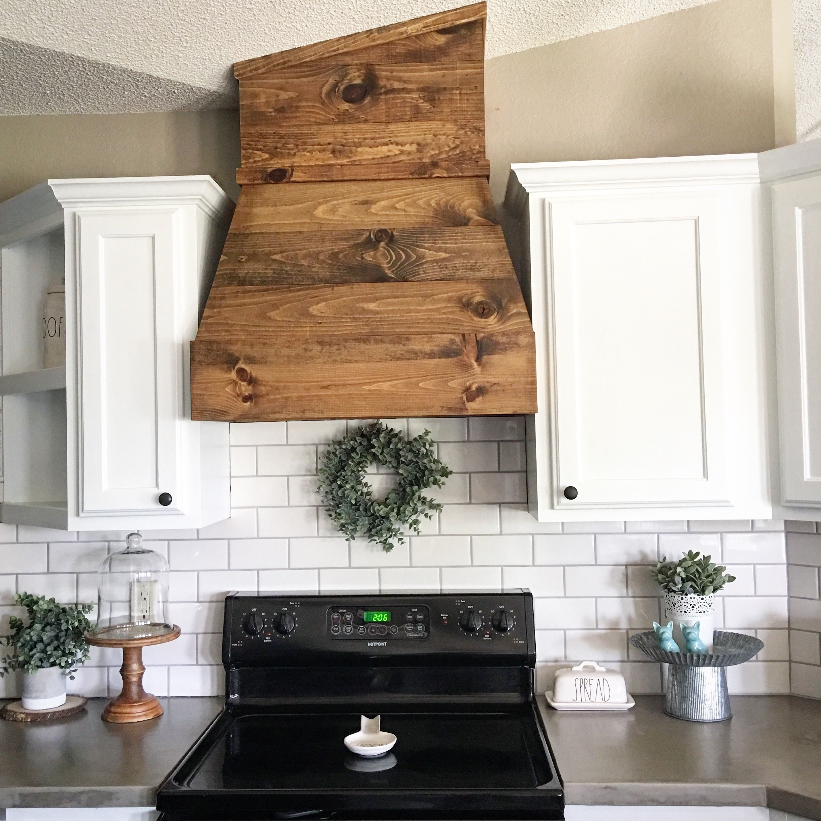 wood range hood kitchen remodel thepainterplace kitchen remodel on kitchen remodel vent hood id=72582