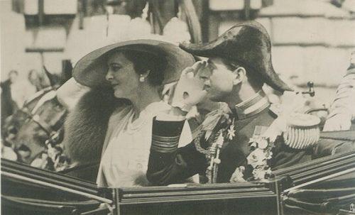 Silver Jubilee 1935, Duke and Duchess of Kent  by Miss Mertens, via Flickr