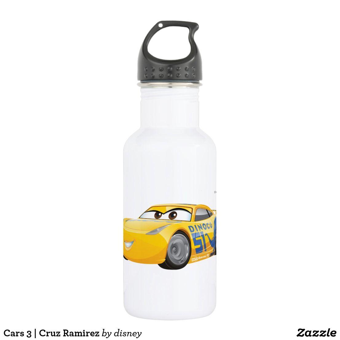 Design of bottle car jack - Cars 3 Cruz Ramirez Water Bottle