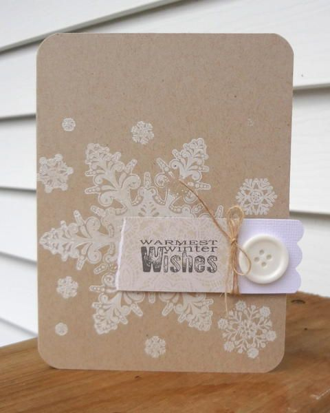Card: warmest winter wishes