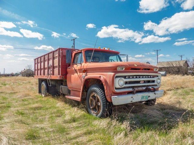 1960's grain truck | Chevy trucks | Trucks, Chevy trucks