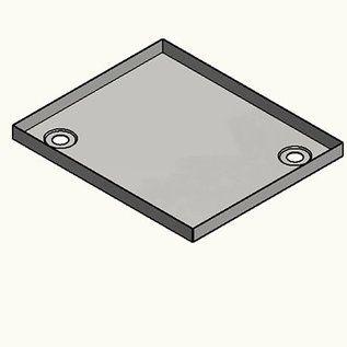 Edelstahl Duschwanne, Duschtasse 1,5mm, INNEN Schliff K320