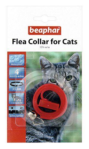 Beaphar Cat Plastic Flea Collar Mixed Colours 35cm (Pack