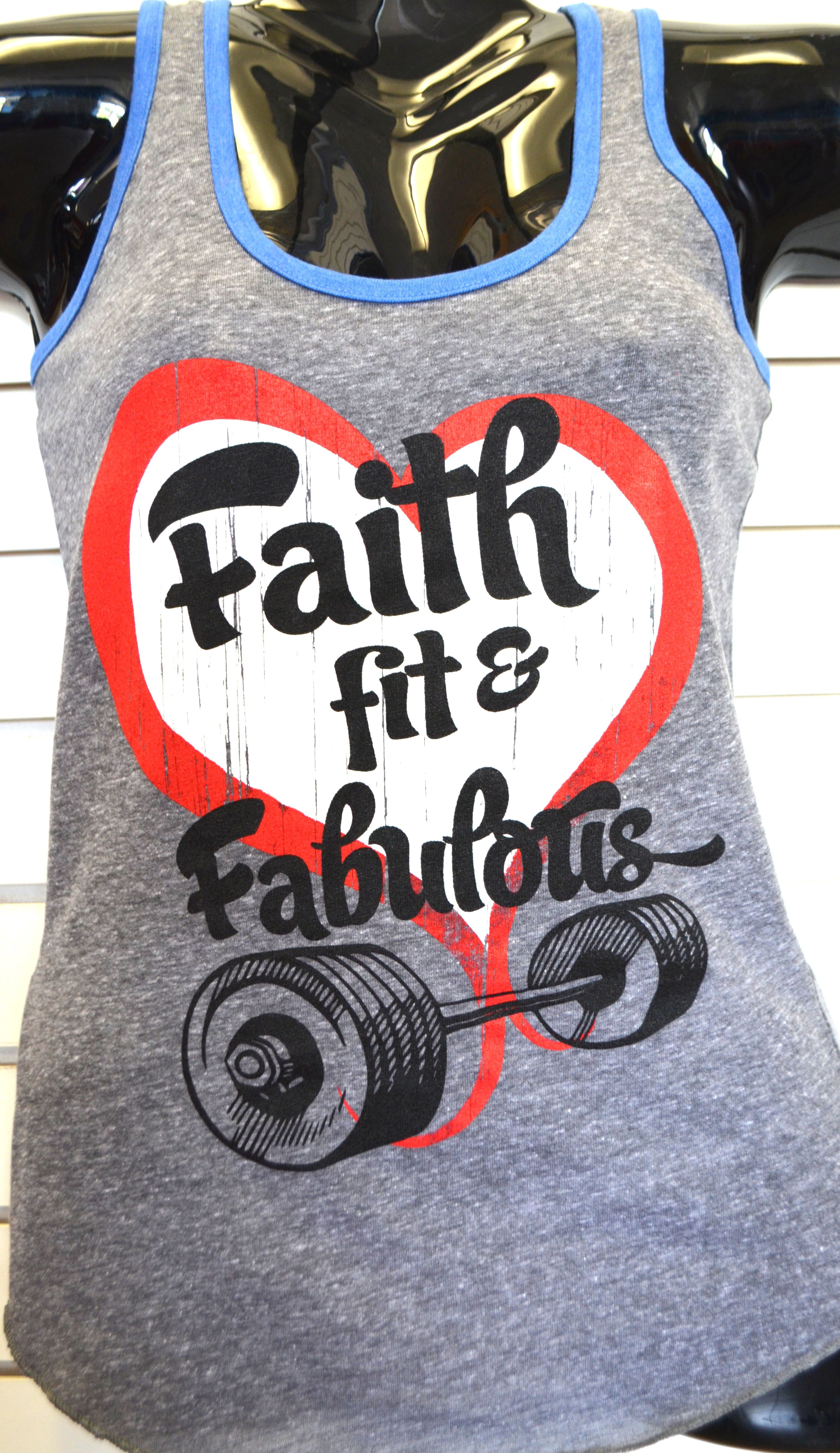New racerback tank style! God Wod Strong us powerful & alive!! #blessed #apparel #crossfit