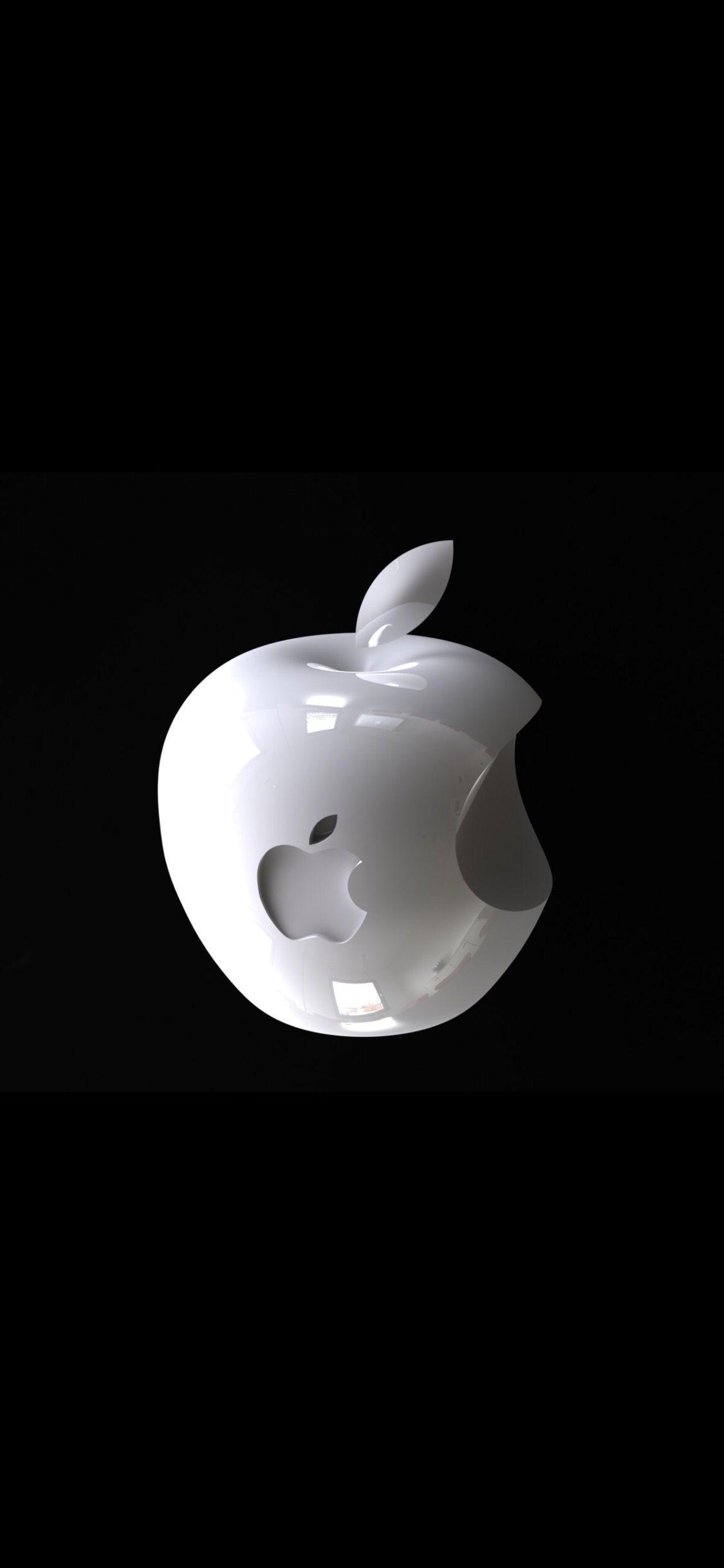 3d Apple Apple Logo Wallpaper Iphone Iphone Wallpaper Logo Iphone Homescreen Wallpaper