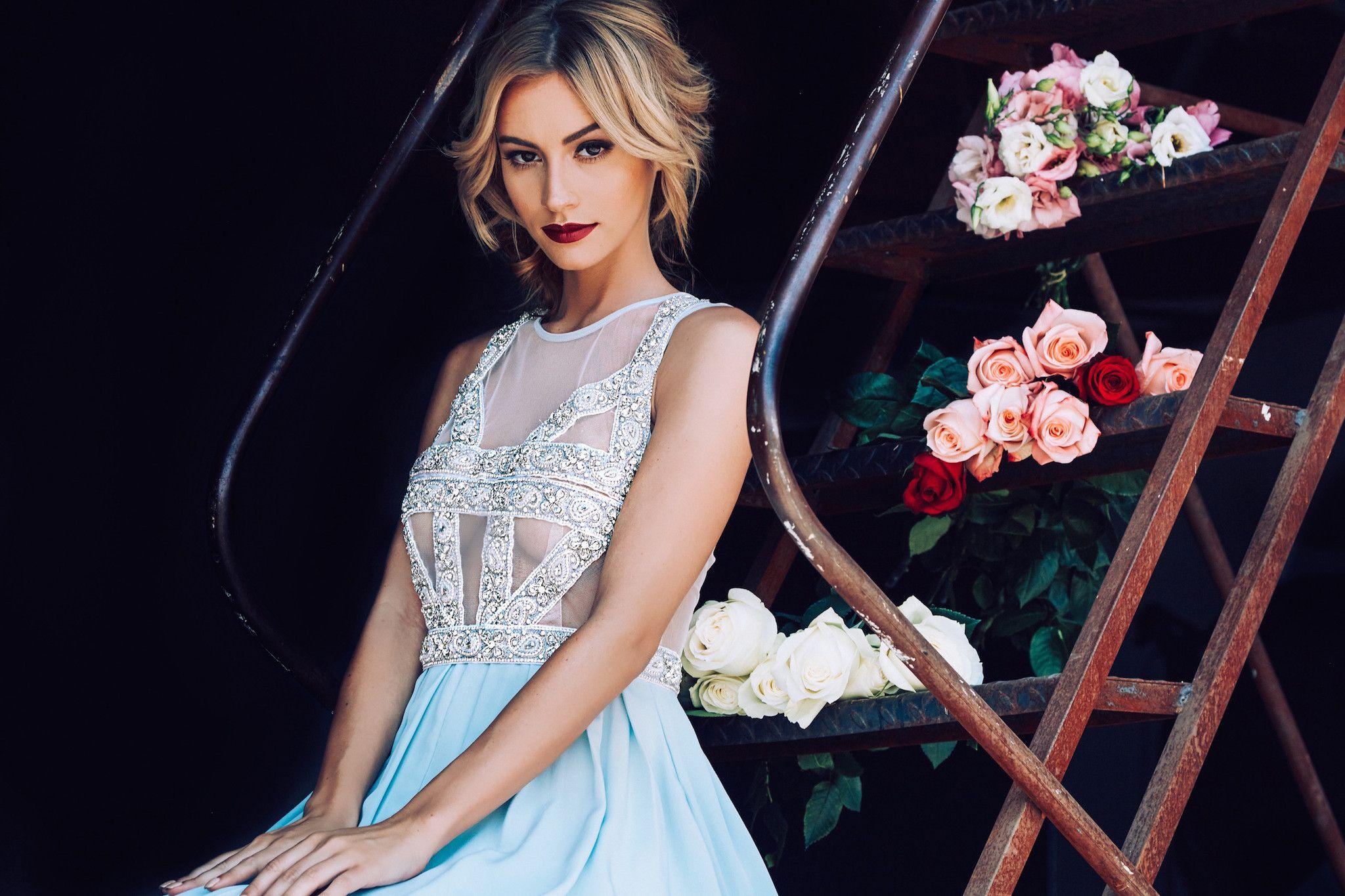 blue wedding dress - Lurelly Bridal Wedding Dress | fabmood.com