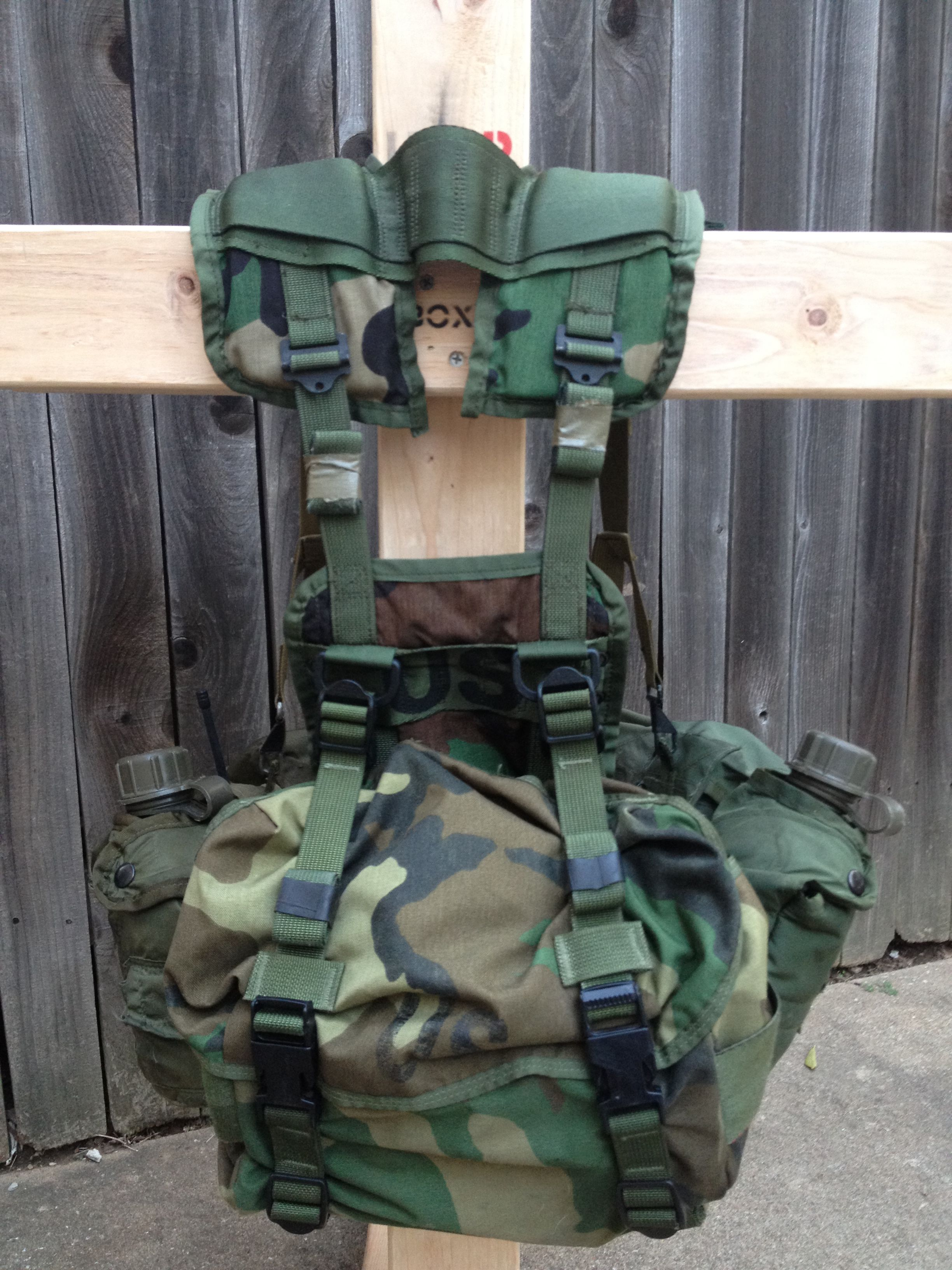 c408fec8e043 ALICE PACK AND FIGHTING LOAD MODIFICATIONS Military Surplus