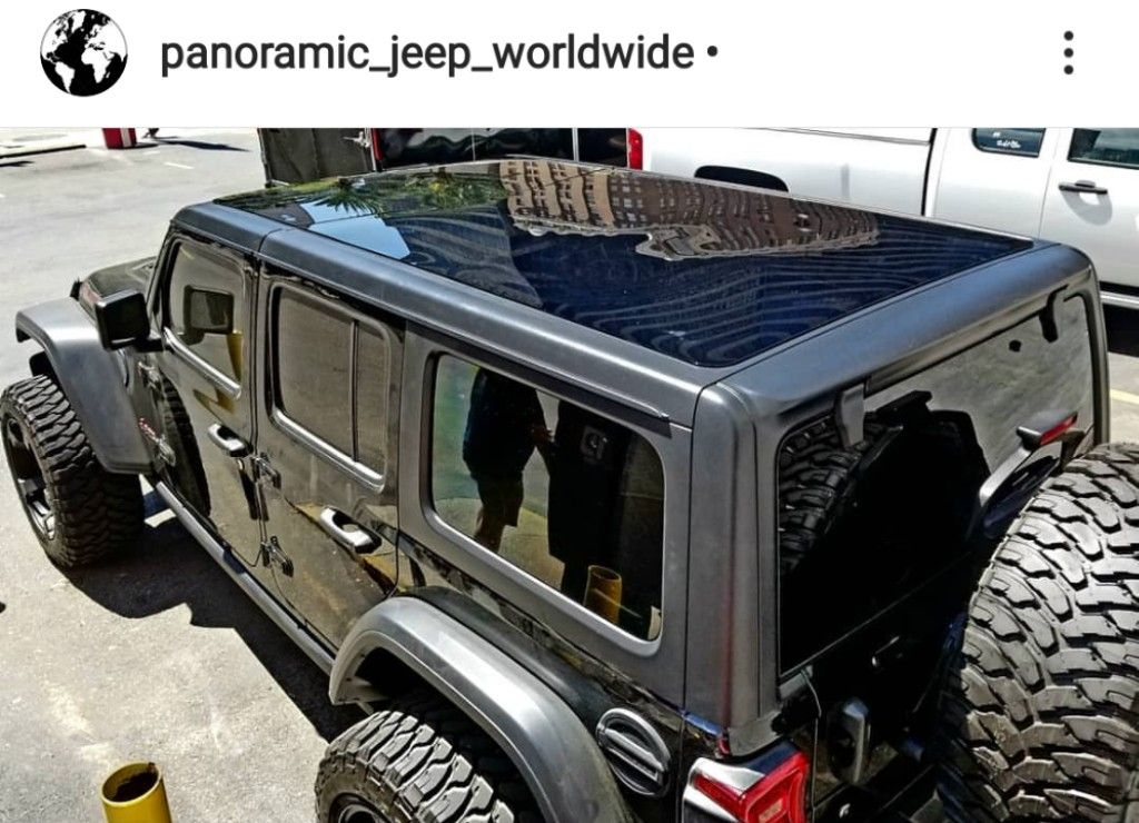 2018 2020 Jeep Wrangler Jl Gladiator Panoramic Hardtop Sunroof
