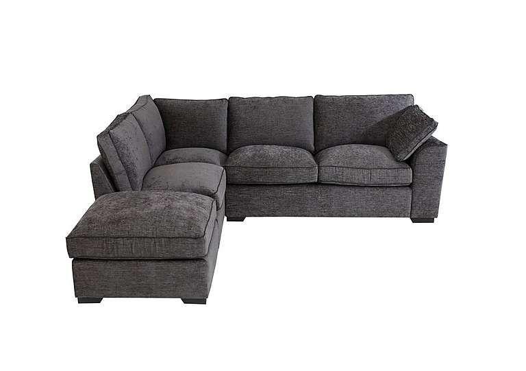 Alexandra Small Corner Sofa with Footstool Small corner