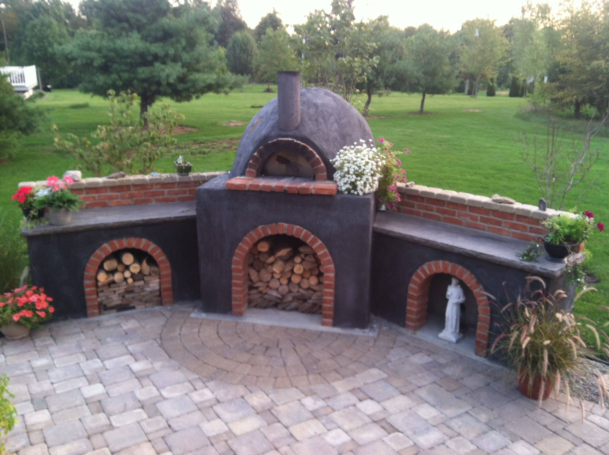 Almost finished wood fired oven pinterest oven